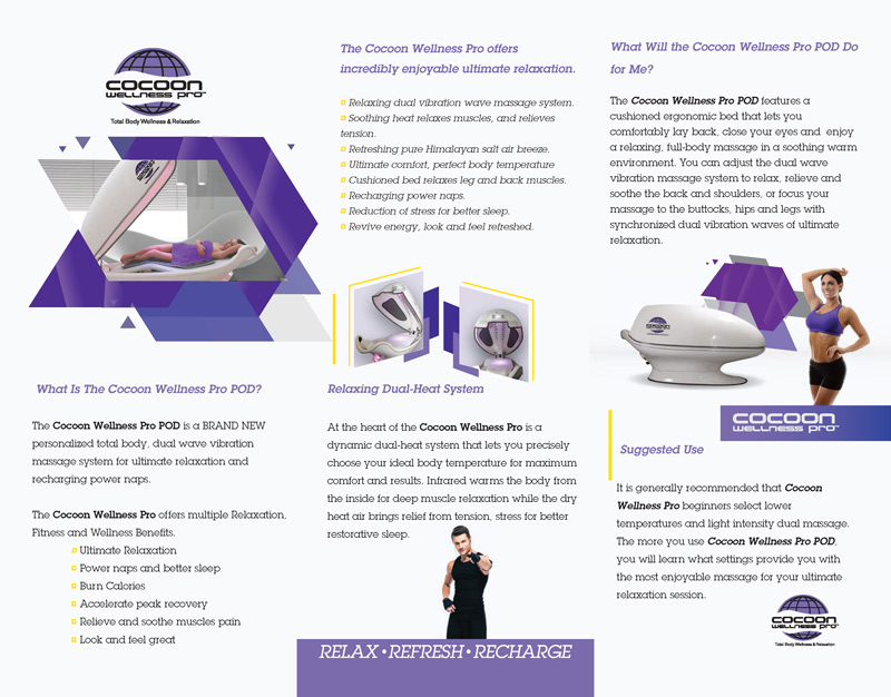cocoon wellness brochure rear